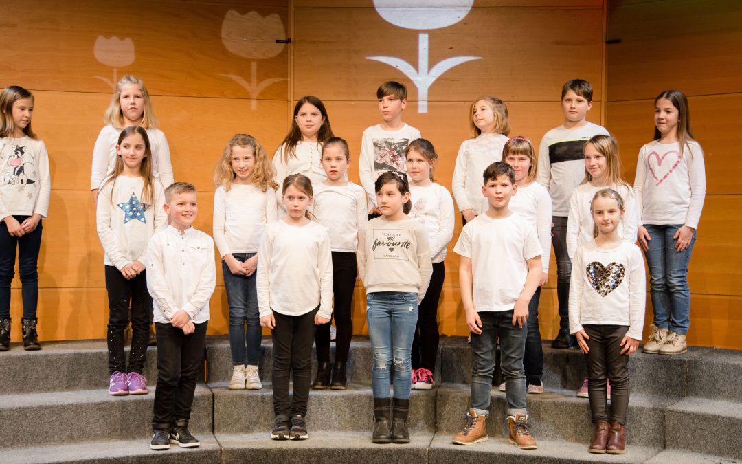 Območna revija otroških pevskih zborov