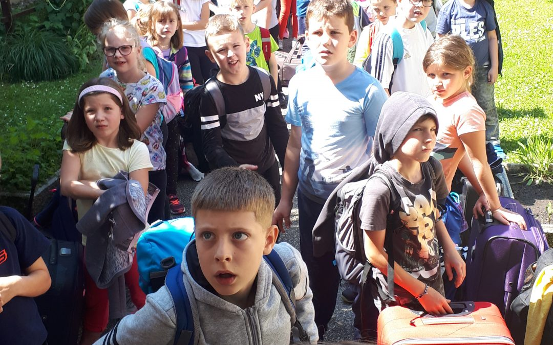 Tretješolci v Fari – 2. dan