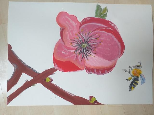 Likovna umetnost na daljavo – 7. razred