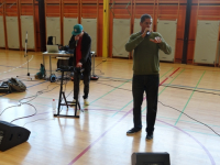 Kulturni dan 9. razredov - Glas, ritem, beseda, rap