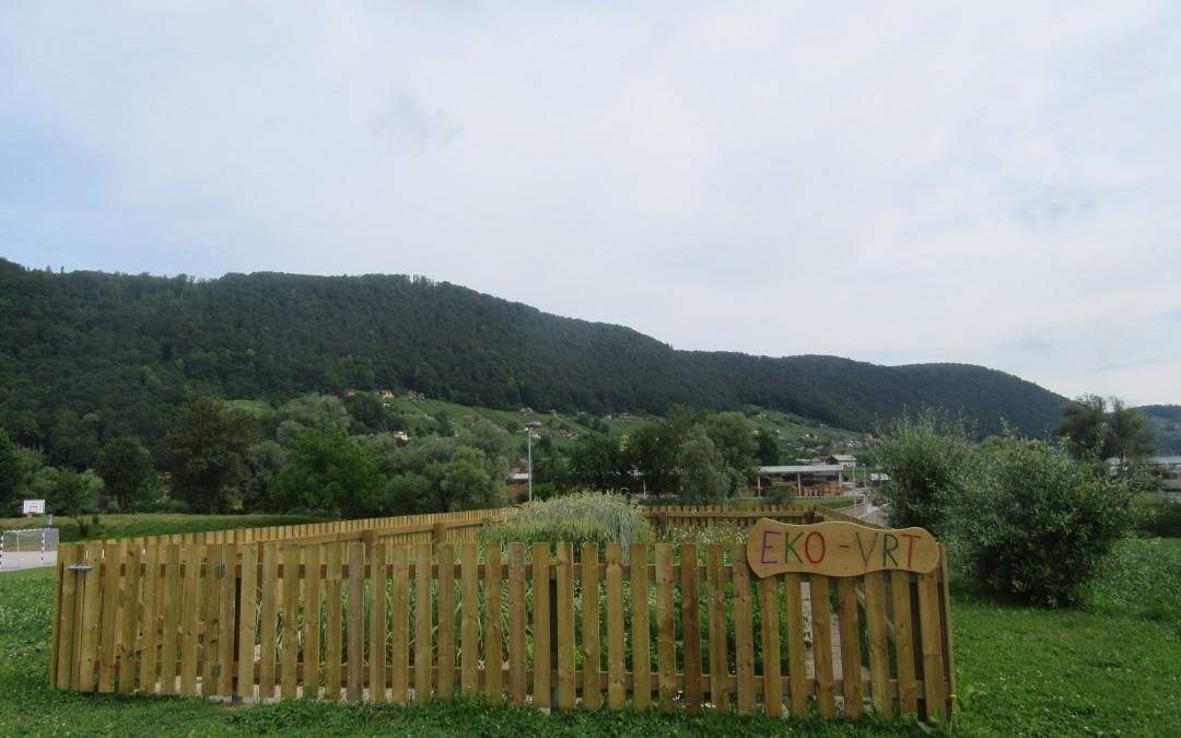 Šolski eko vrt – tretji najlepši šolski eko vrt v Sloveniji