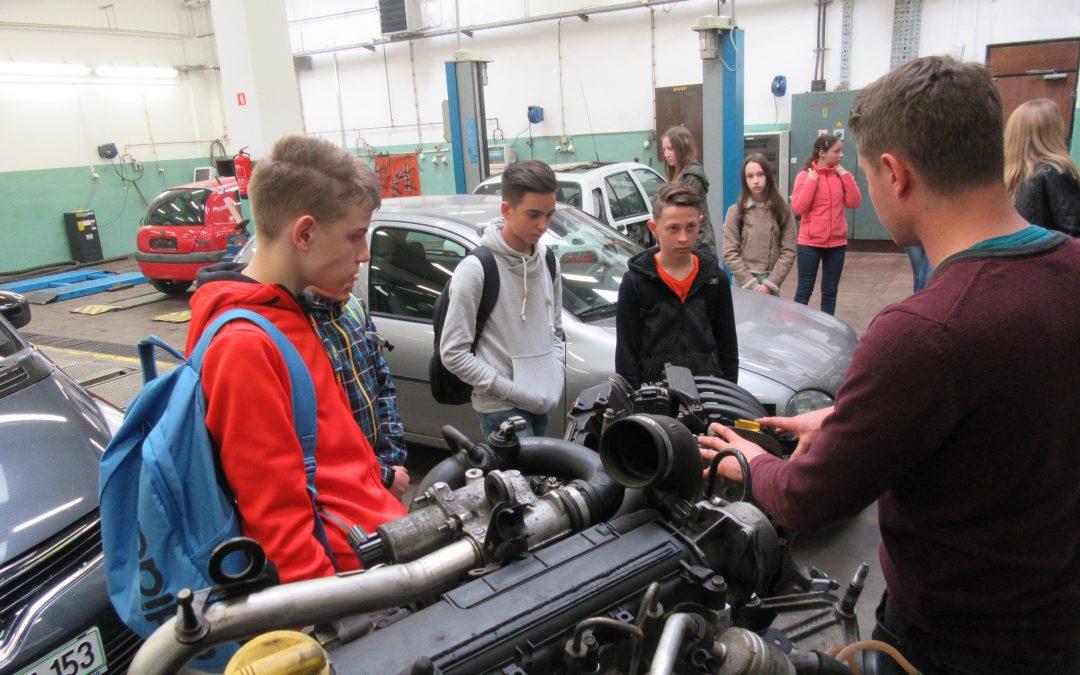 Osmošolci so obiskali Šolski center Novo mesto